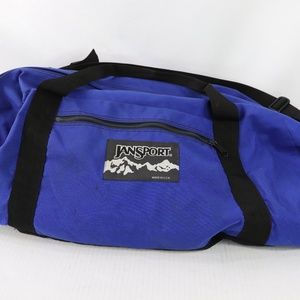 90s Jansport Spell Out Large Handled Duffel Bag